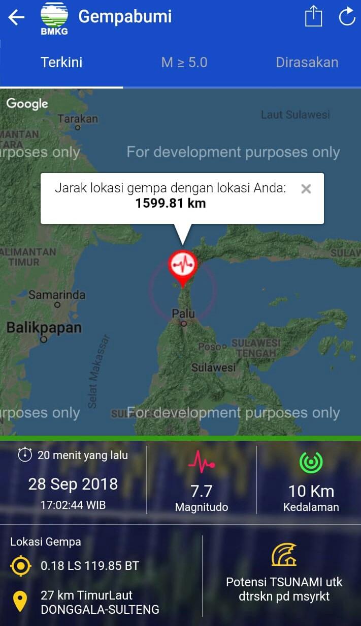 Tsunami di Indonesia