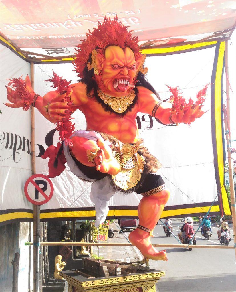 Nyepi Day In Bali_Yoexplore_Ogoh-ogoh br. Balun
