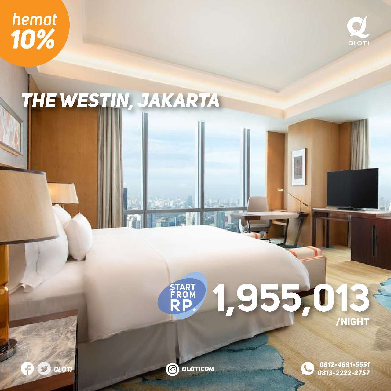 The Westin Jakarta - yoexplore, liburan keluarga - yoexplore.co.id
