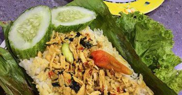 cara membuat nasi bakar ayam kemangi - yoexplore, liburan keluarga - yoexplore.co.id