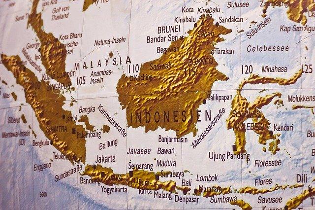 Peta Indonesia by Pixabay