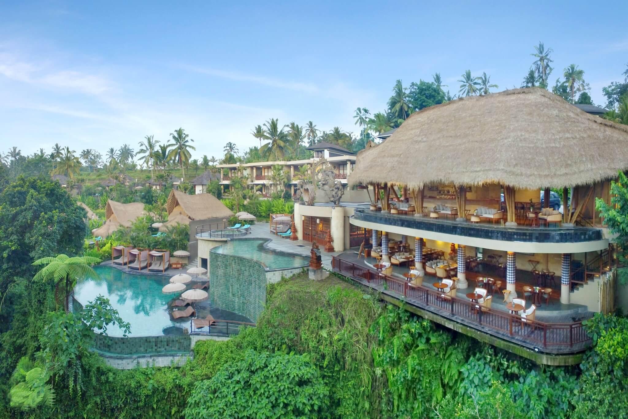 hotel baru di bali aksari resort ubud