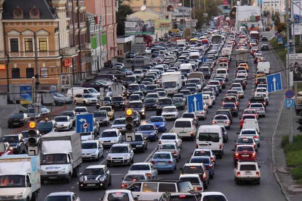kota macet di dunia kyiv