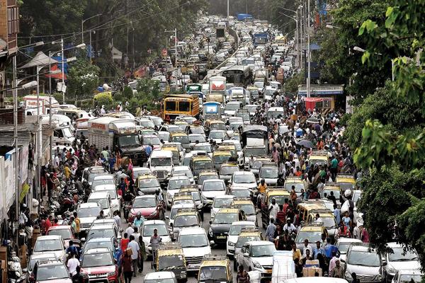 kota paling macet di dunia mumbai