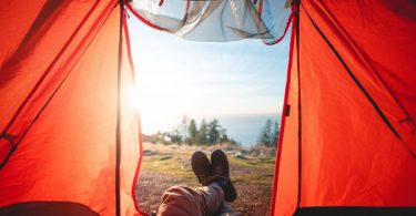 solo camping persiapan