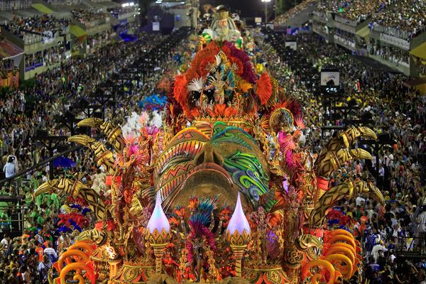 tarian samba brazil