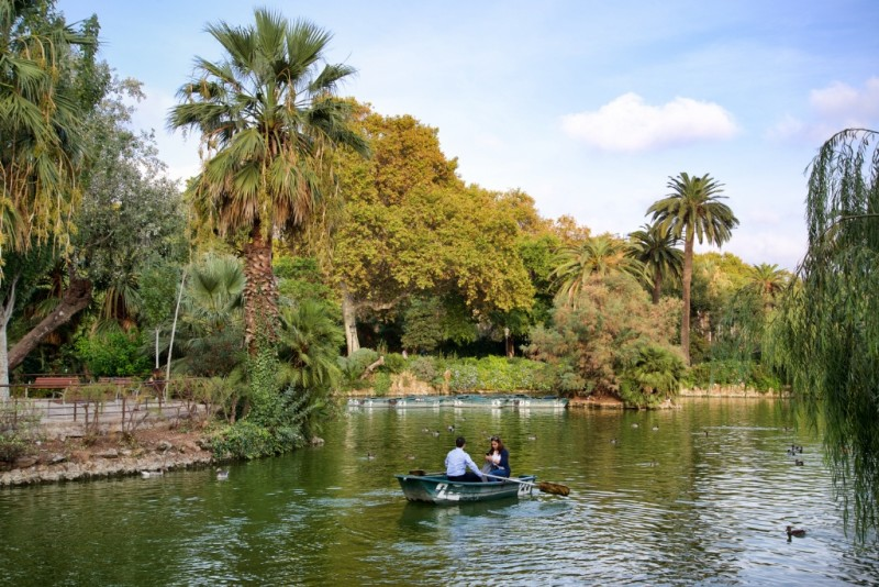 Lake Boating Parc de la Ciutadella