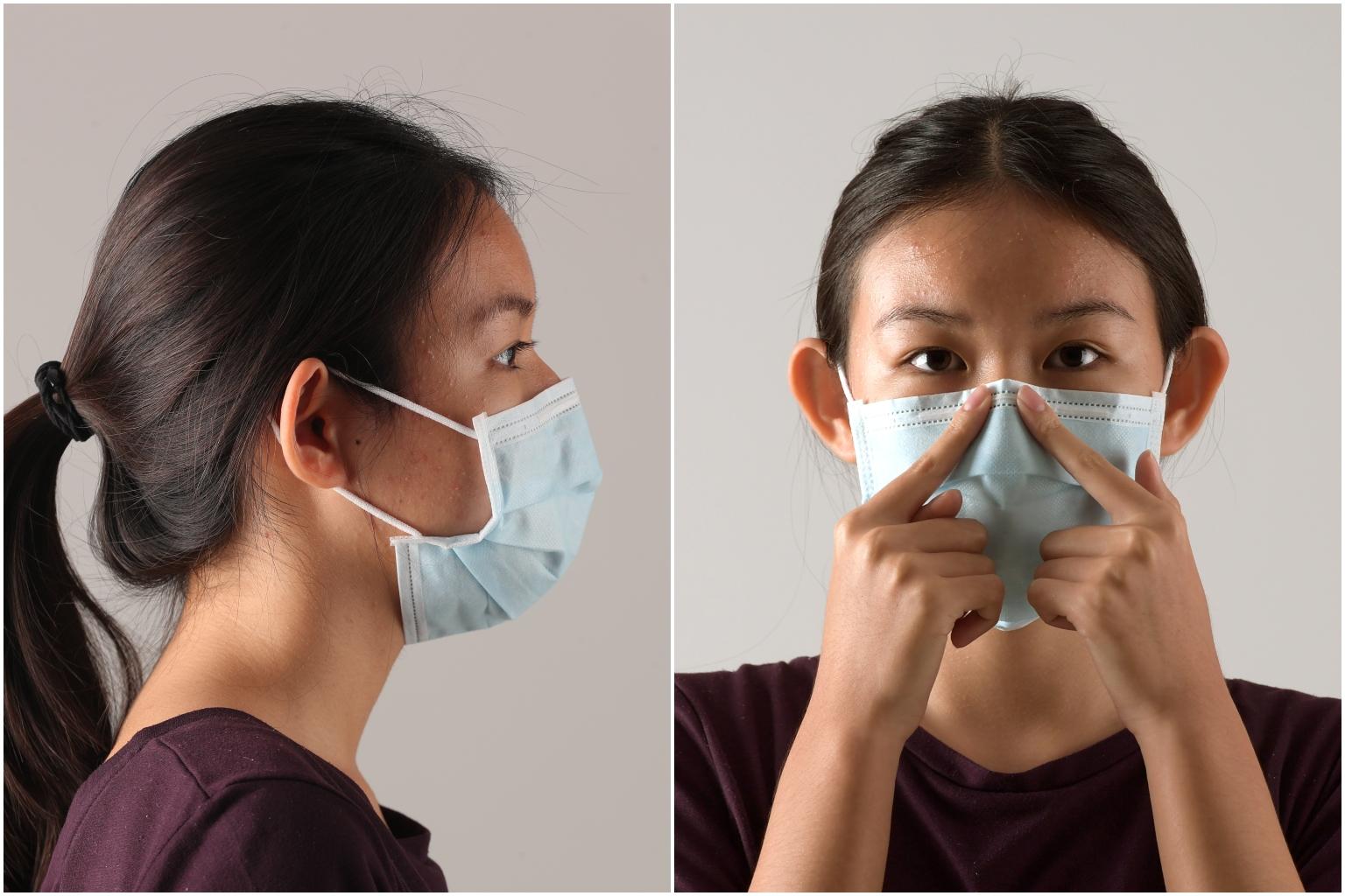 Cara Menggunakan Masker Yang Benar