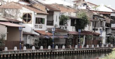 Sungai Melaka - Cerita Traveling Ke Malaysia